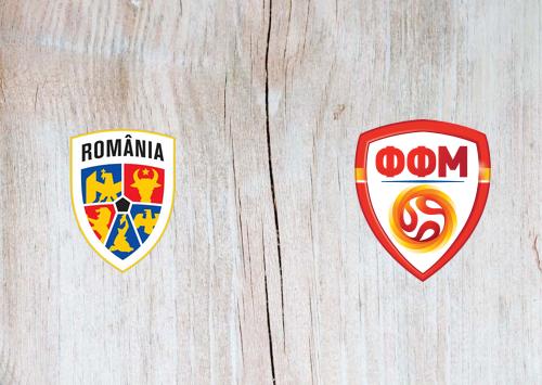 Romania vs North Macedonia -Highlights 25 March 2021