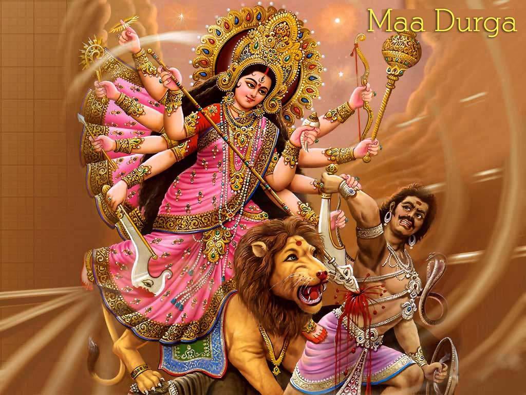 Durga Maa Photo Wallpaper Image Full HD Download