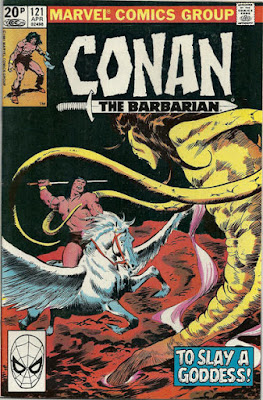 Conan the barbarian #121