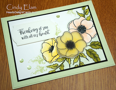 Heart's Delight Cards, Painted Poppies, SRC - Painted Poppies, Stampin' Up!