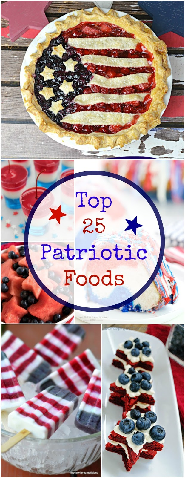 Top 25 Patriotic Foods!