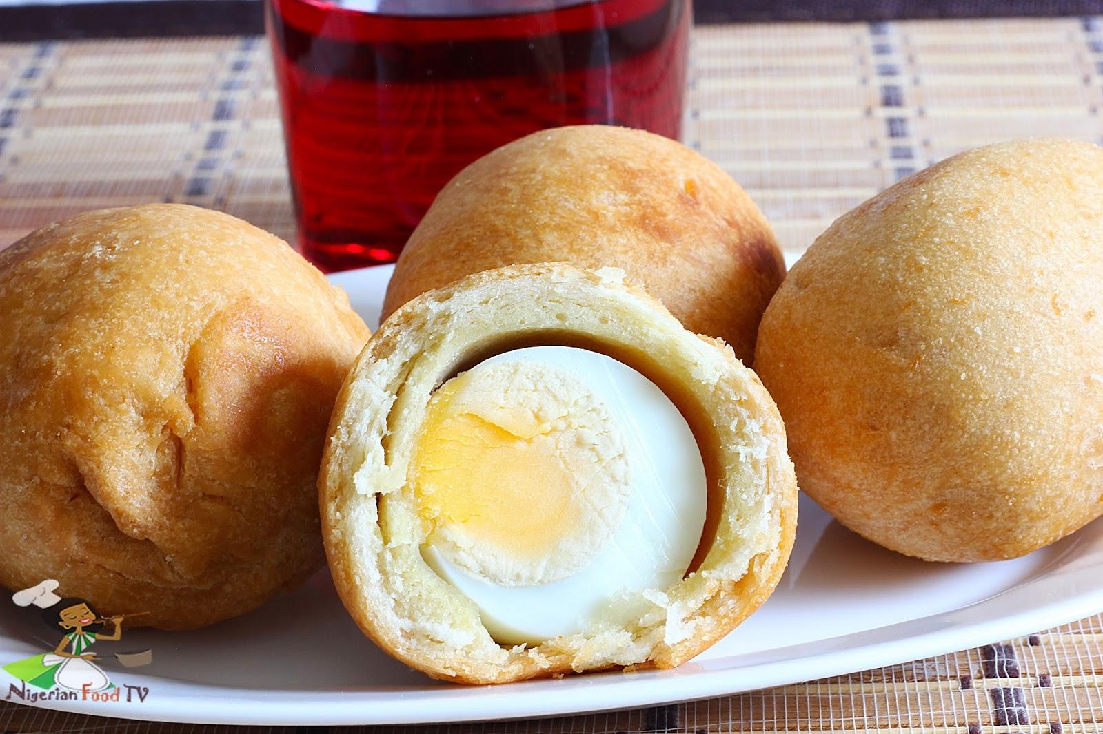 Nigerian Egg roll