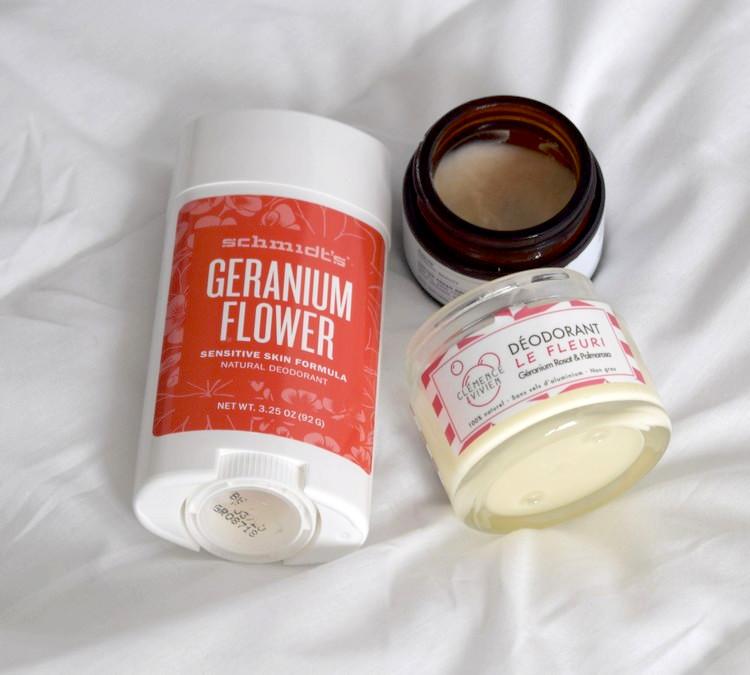 the green frog déodorants crème naturels schmidt's format stick au géranium evolve cotton fresh clémence et vivien le fleuri