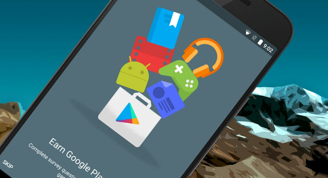Earn Free Google Play Credit By Answering Surveys