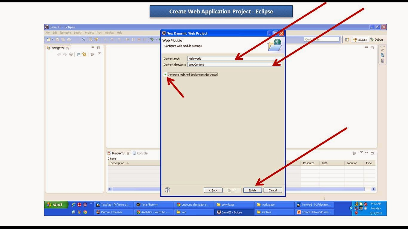 Creating Database Web Applications with Eclipse