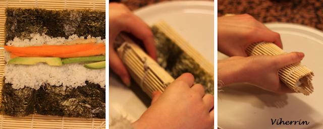 sushin valmistus
