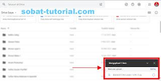 Cara Upload Aplikasi Ke Google Drive Melalui Laptop/PC