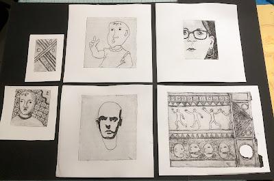 pasta machine prints Judith Hoffman