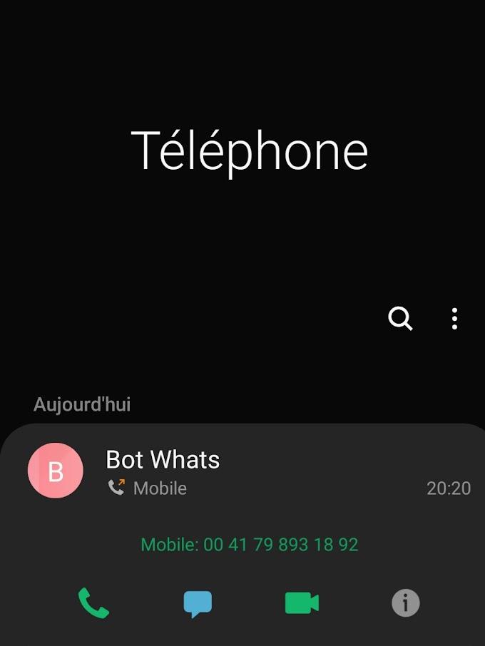 Un Robot Whatsapp pour répondre à vos questions sur Covid19