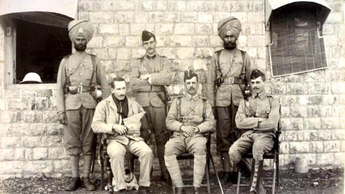 Saragarhi Sikh Soldiers photos