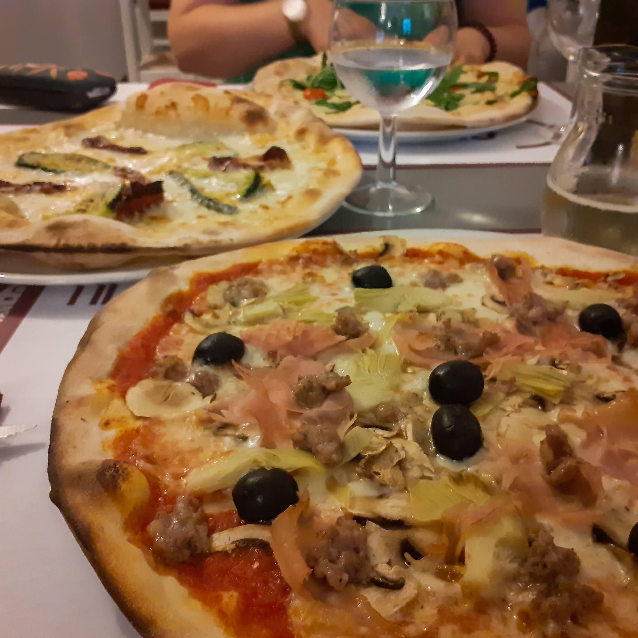 Pizza, Biforco, Dom z Kamienia blog