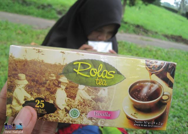 Rolas tea vanila - kebun teh wonosari