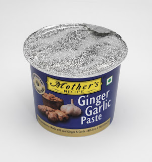 Mother's Recipe pioneers packaging innovation for cooking paste category; introduces the Ginger Garlic Tub.