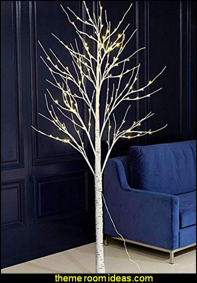 Birch Tree  LED Lighted
