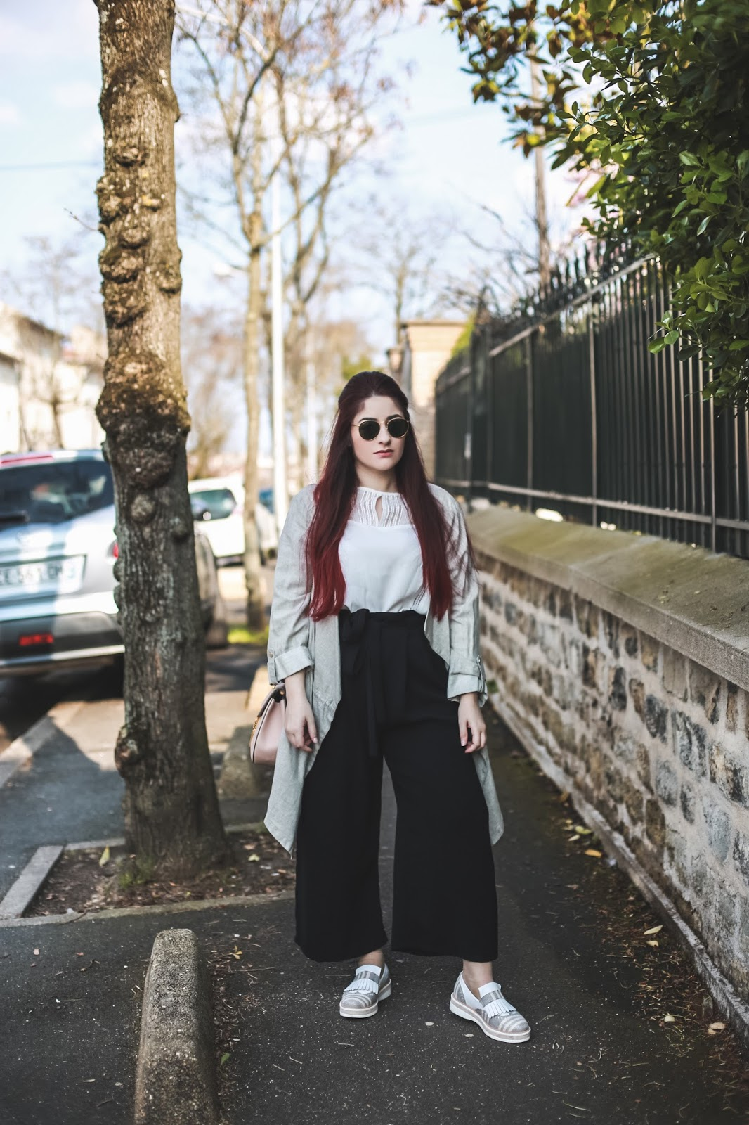 pantalon taille haute blog mode venus is naive