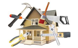 memperbaiki kerusakan rumah