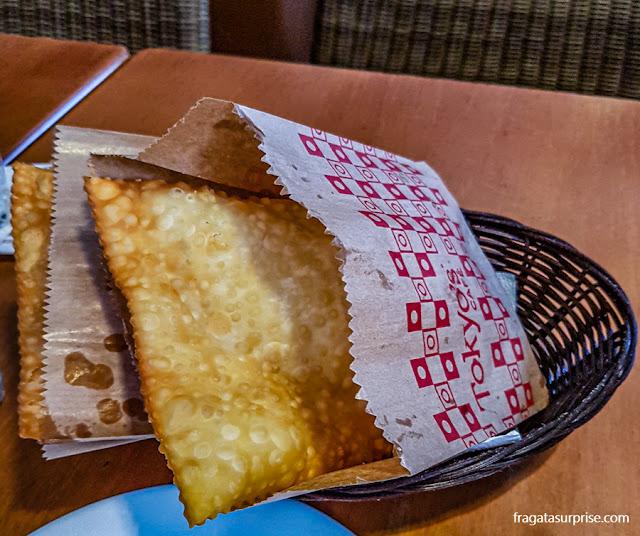 Pastel de queijo do Tokyo's Café, Recife