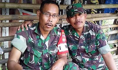 """""""Duo Kapten"""" Pengawal Suksesnya TMMD Rempoah"""