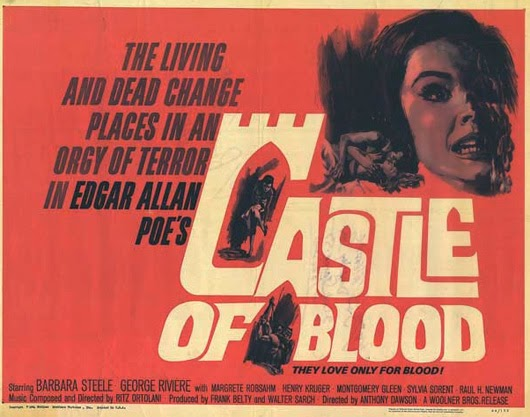 Poster - Castle of Blood (1964)