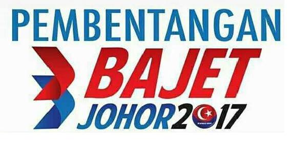 Pembentangan Bajet Johor 2017