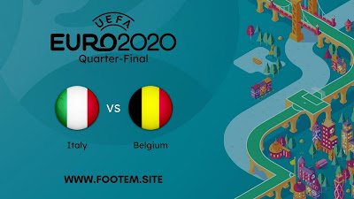 Belgium vs Italy euro cup quarter final