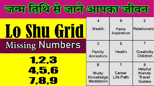 Lo shu grid missing numbers remedies | Missing Numbers in Lo Shu Grid |1,2,3,4,5,6,7,8,9