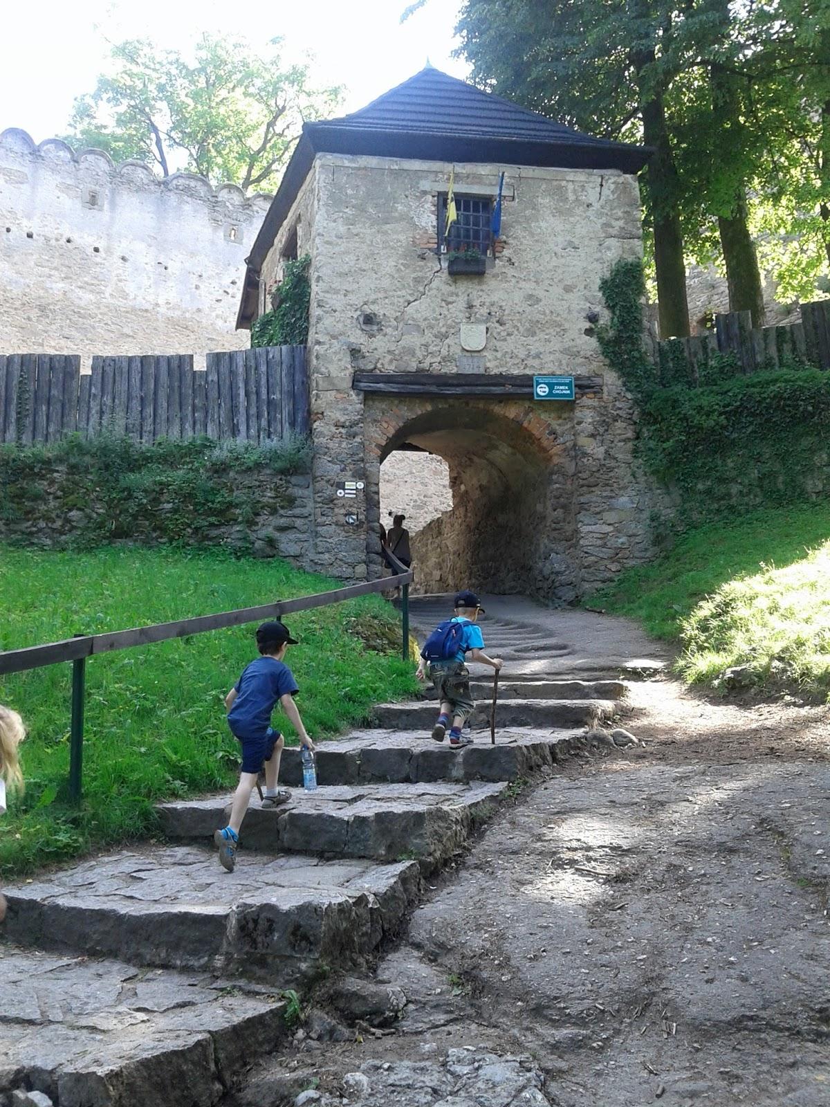 Zamek Chojnik - czyli jak zmęczyć dzieci i siebie w wolny dzień.