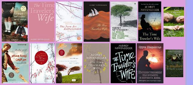 portadas del libro time travel La mujer del viajero en el tiempo, de Audrey Niffenegger