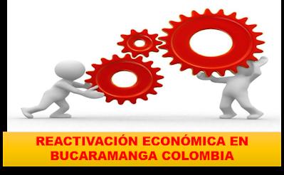 REACTIVACION ECONÓMICA JUNIO DEL 2020  EN BUCARAMANGA COLOMBIA.