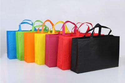 tas belanja untuk liburan ke padang