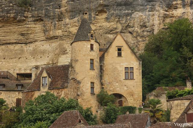 Facciata del Palazzo Tarde a la Roque Gageac