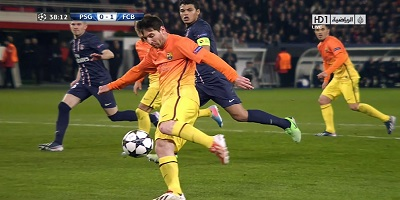 UEFA-8 : Paris Saint-Germain 2 vs 2 Barcelona 02-04-2013