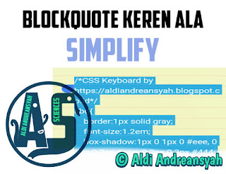 Blockquote Simplify