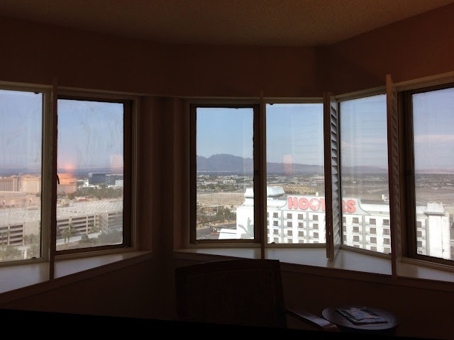Tropicana Las Vegas Junior Suite Windows