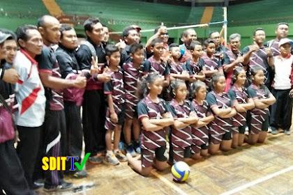 TIM Bola Voly PA dan PI Pracimantoro berhasil Menyabet Juara 1 POPDA 2017 Tingkat Kabupaten Wonogiri
