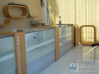 Jasa Produksi Etalase Display Toko + Furniture Semarang