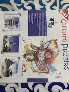 Cultural Jigsaw Puzzle Nepal - Gaju Products - Nyatapole, Swayambhunath, Lakhe, Krishna Mandir
