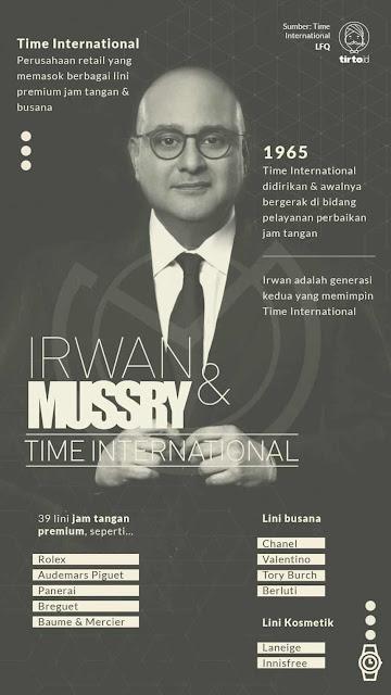 Irwan Mussry Tory Burch