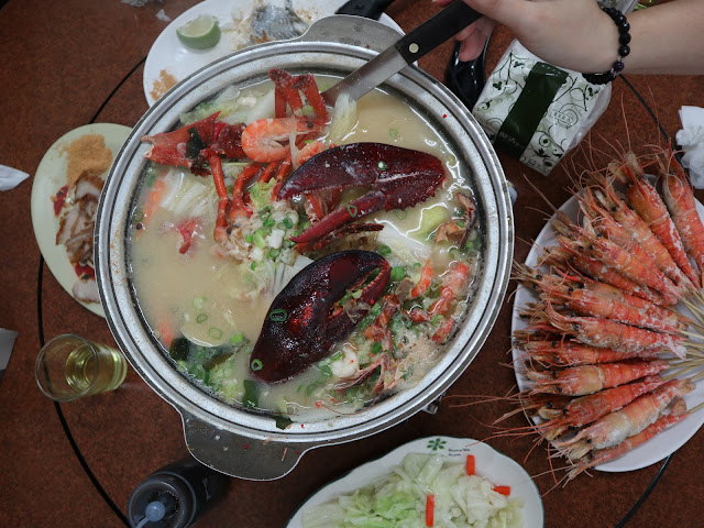 IMG 1597 - 二訪東港活海產│現點現撈,每樣餐點都超級新鮮,必點龍蝦味噌鍋