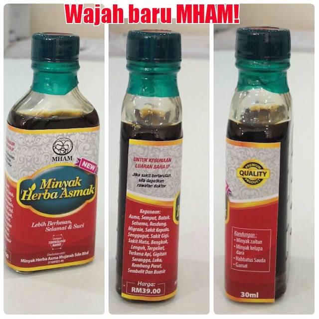 Minyak Herba Asma Asmak Mujarab Original