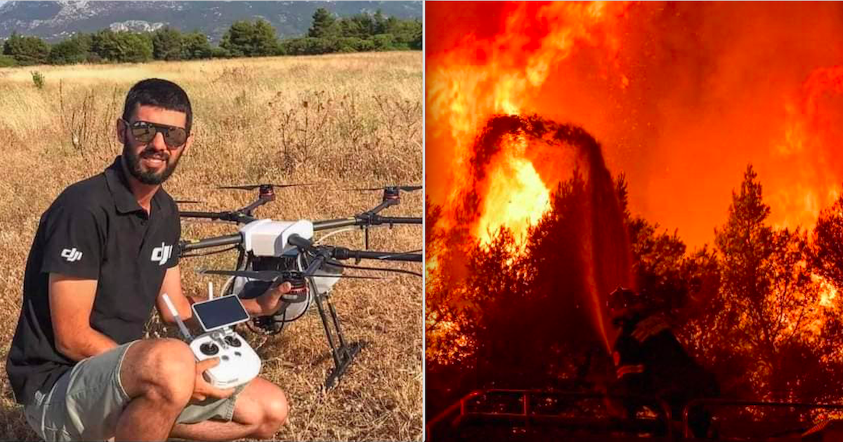 Tributes Paid To Volunteer Firefighter Who Died Fighting The Wildfires In Greece