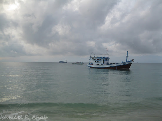 Sea of Koh Samet Island