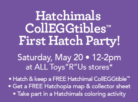 Arizona Families FREE Toysrus Hatchimals CollEGGtibles Event - Toys r us store map