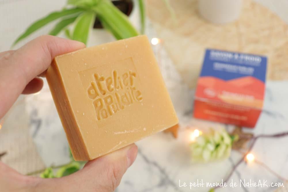 savon saponifié à froid bio Made in France