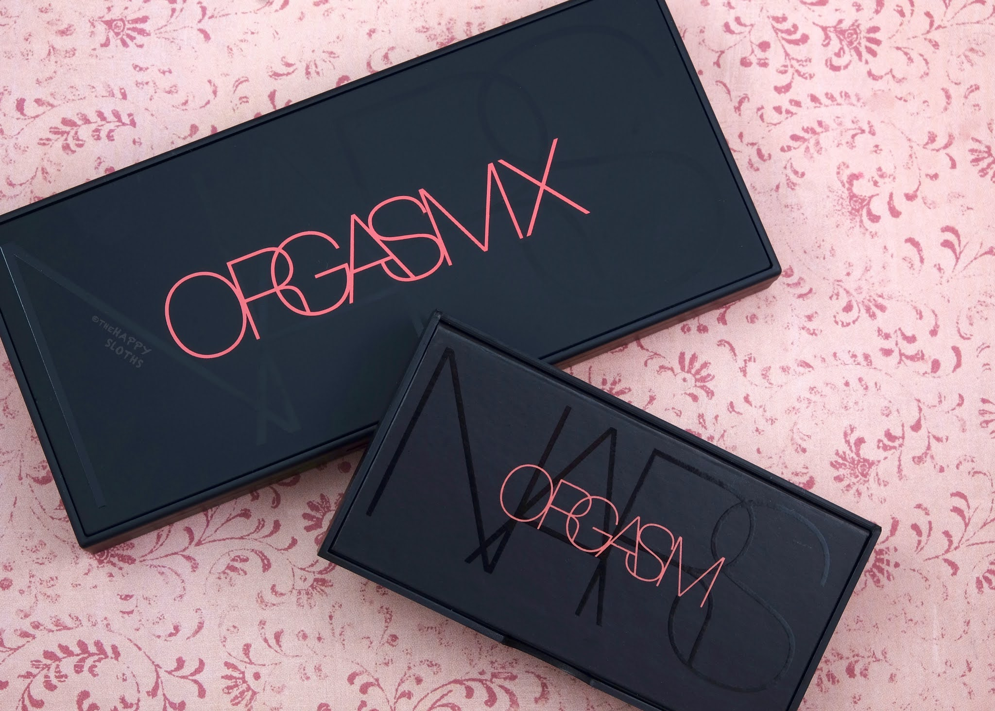 NARS | Orgasm X Cheek Palette & Mini Orgasm Eyeshadow Palette: Review and Swatches