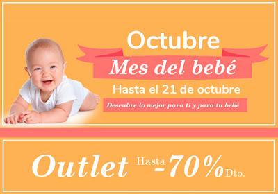 70% de descuento en productos para bebes