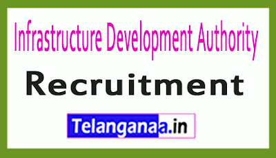 Infrastructure Development Authority IDA Recruitment Notification