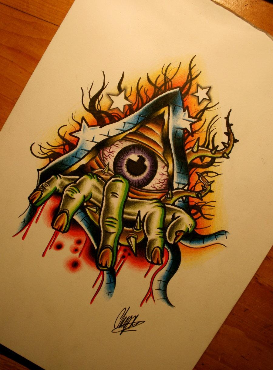 Eye For Design Bohemian Interiors And Accessories: GRIFFE TATTOO: Desenhos Novos Para Tattoo Feito Por Itchysack