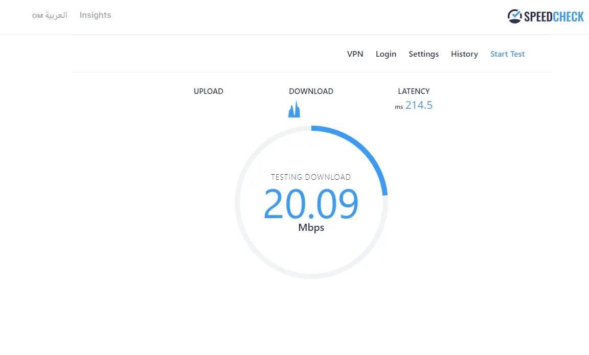 كيفية قياس سرعة الإنترنت الحقيقية بطريقة سهلة 2