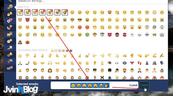 Biểu tượng cảm xúc trên status Facebook mới nhất